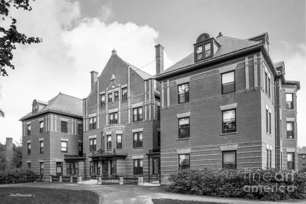 Porter Photograph - Mount Holyoke College Porter Hall by University Icons
