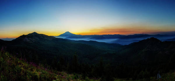 Jefferson Photograph - Mount Jefferson Sunrise by Pelo Blanco Photo