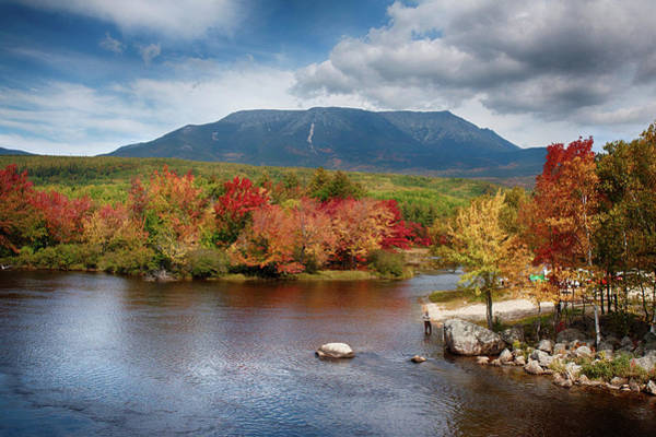 Photograph - Mount Katahdin by Jeff Folger