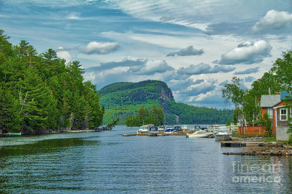 Somerset County Photograph - Mount Kineo From The Moose River #1 by John Kenealy