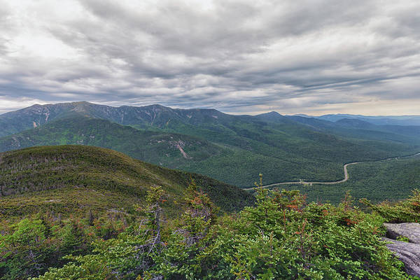 Photograph - Mount Lafayette And Franconia Notch Parkway by Brian MacLean