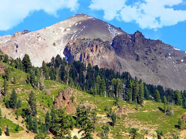 Photograph - Mount Lassen Volcano by Frank Wilson