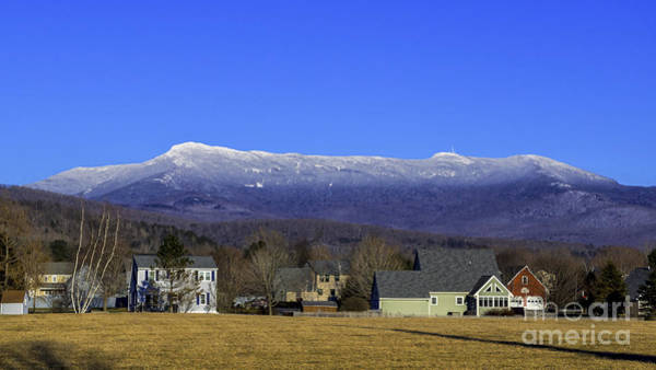 Photograph - Mount Mansfield by Scenic Vermont Photography