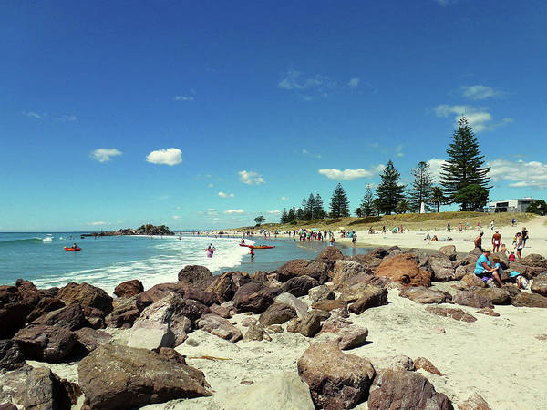 Photograph - Mount Maunganui Beach 2 - Tauranga New Zealand by Selena Boron
