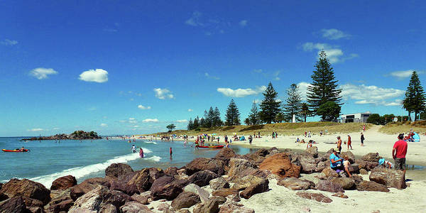 Photograph - Mount Maunganui Beach 6 - Tauranga New Zealand by Selena Boron