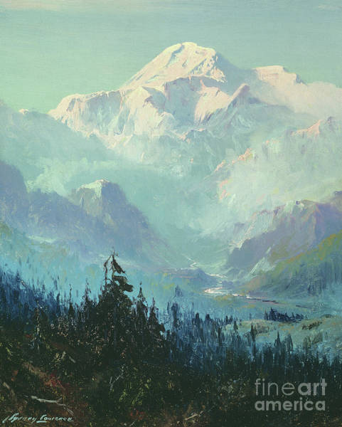 Wall Art - Painting - Mount Mckinley by Sidney Laurence