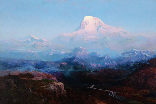 Wall Art - Painting - Mount Mckinley by Sydney Laurence