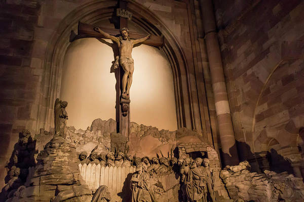 River Ill Wall Art - Photograph - Mount Of Olives Strasbourg Cathedral by Teresa Mucha