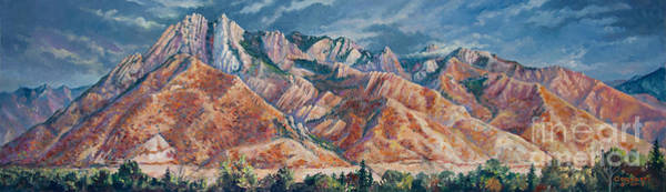 Painting - Mount Olympus In Autumn  by Rob Corsetti