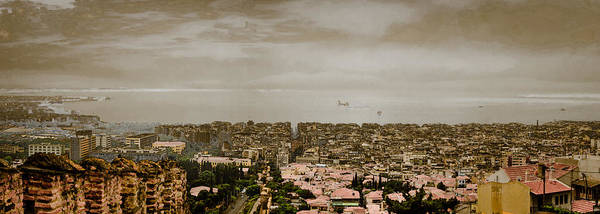 Thessaloniki, Greece - Mount Olympus Art Print