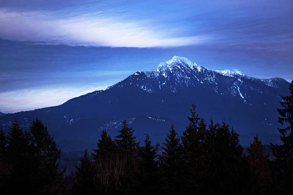 Photograph - Mount Pilchuk In Late Afternoon by David Lunde