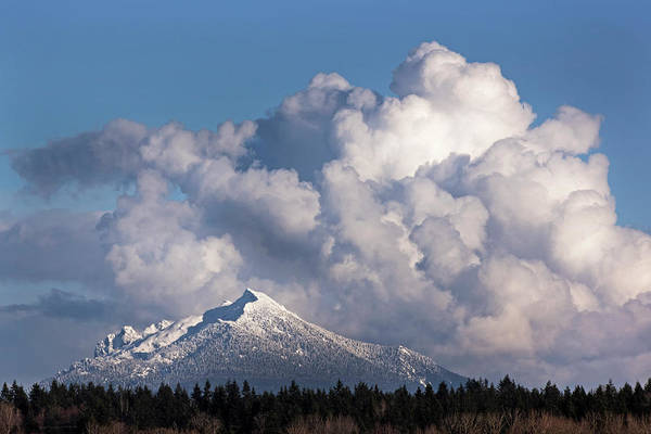 Photograph - Mount Pilchuk In March by David Lunde