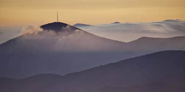 Asheville Wall Art - Photograph - Mount Pisgah In Morning Light - Blue Ridge Mountains by Rob Travis