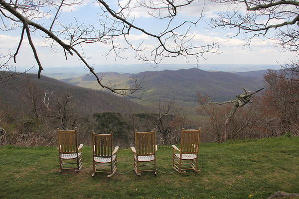 Photograph - Mount Pisgah View by Allen Nice-Webb