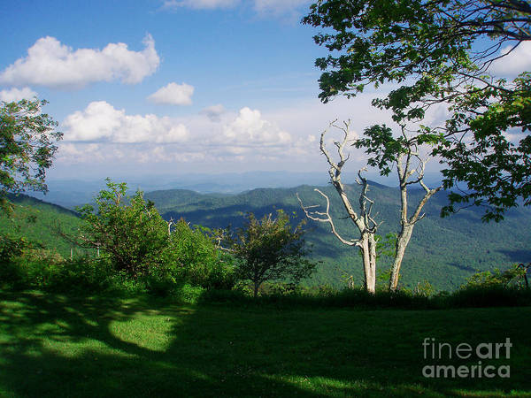 Photograph - Mount Pisgah Vista by Allen Nice-Webb