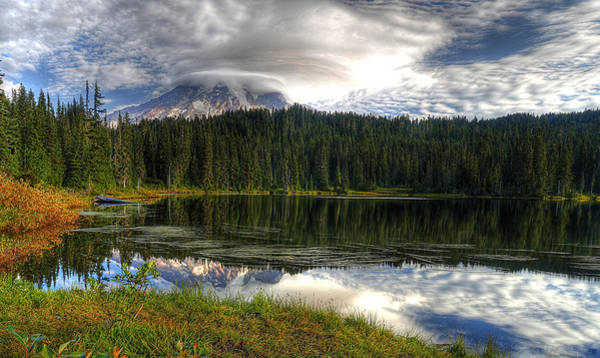 Photograph - Mount Rainier by Bob Cournoyer