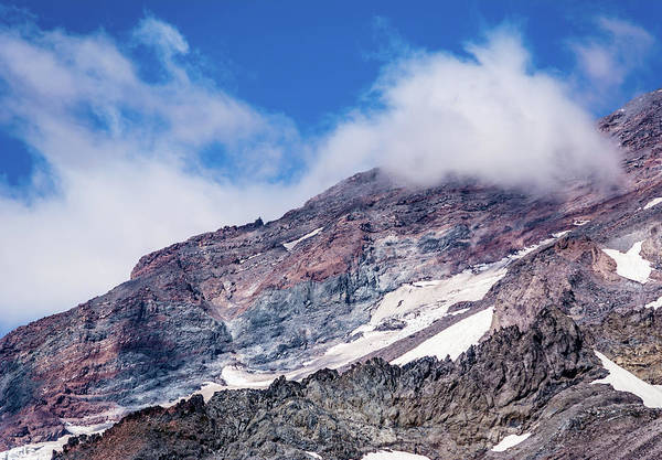 Wall Art - Photograph - Mount Rainier Closeup by Marv Vandehey
