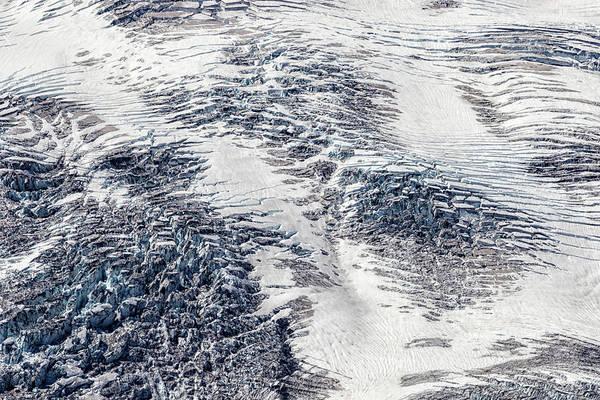 Photograph - Mount Rainier Glacier Abstract by Belinda Greb