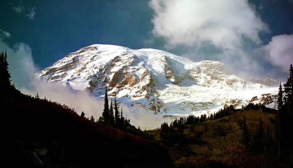 Photograph - Mount Rainier by Greg Reed