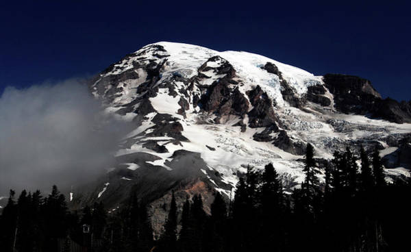 Wall Art - Photograph - Mount Rainier Southwestern Side by David Lee Thompson