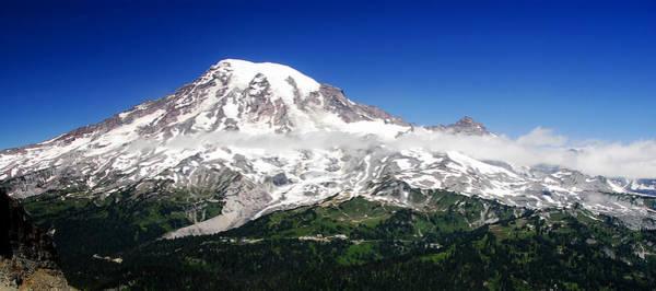 Wall Art - Photograph - Mount Rainier Super Pano by David Lee Thompson