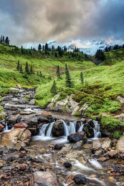 Photograph - Mount Rainier's Edith Creek by Pierre Leclerc Photography