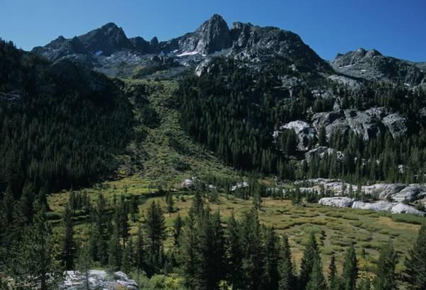 Mount Ritter Shadow Creek And Granite Rocks Art Print
