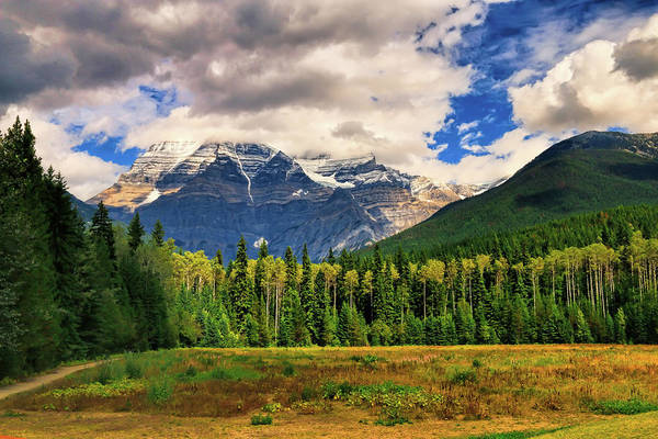 Photograph - Mount Robson  by Ola Allen