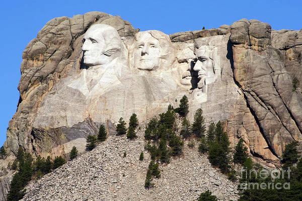 Rushmore Photograph - Mount Rushmore I by Teresa Zieba