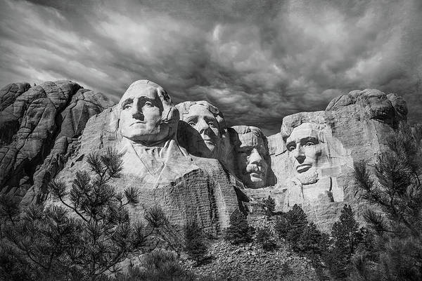 Mt Wall Art - Photograph - Mount Rushmore II by Tom Mc Nemar