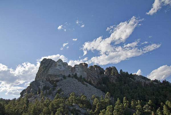 Wall Art - Photograph - Mount Rushmore Memorial 1 by Steve Ohlsen