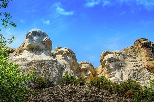Photograph - Mount Rushmore National Memorial by Doug Camara