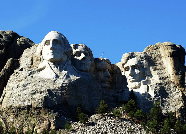 Photograph - Mount Rushmore National Memorial by Mary Capriole