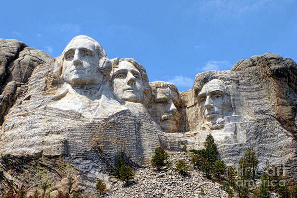 Photograph - Mount Rushmore National Memorial by Olivier Le Queinec