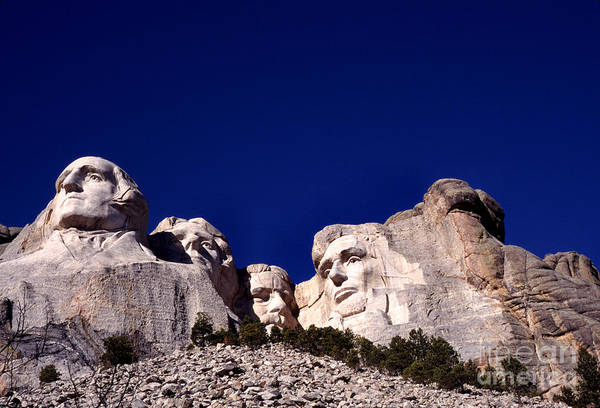 Photograph - Mount Rushmore National Memorial by Thomas R Fletcher