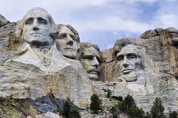 Rushmore Photograph - Mount Rushmore National Monument by Jon Berghoff