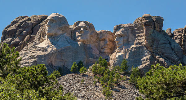 Photograph - Mount Rushmore South Dakota by Brenda Jacobs