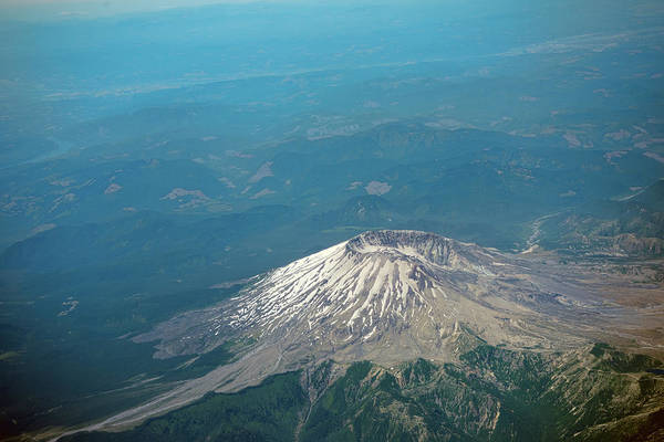Photograph - Mount Saint Helens by Dan McManus