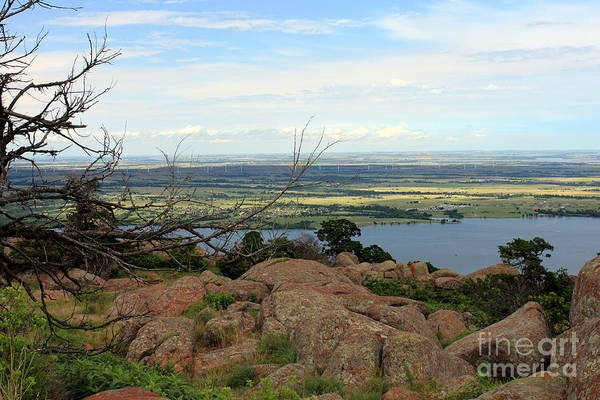 Wall Art - Photograph - Mount Scott View From Top by Eric Irion
