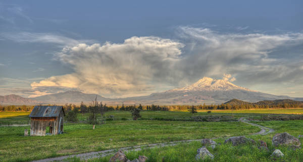 Photograph - Mount Shasta Remembers by Loree Johnson