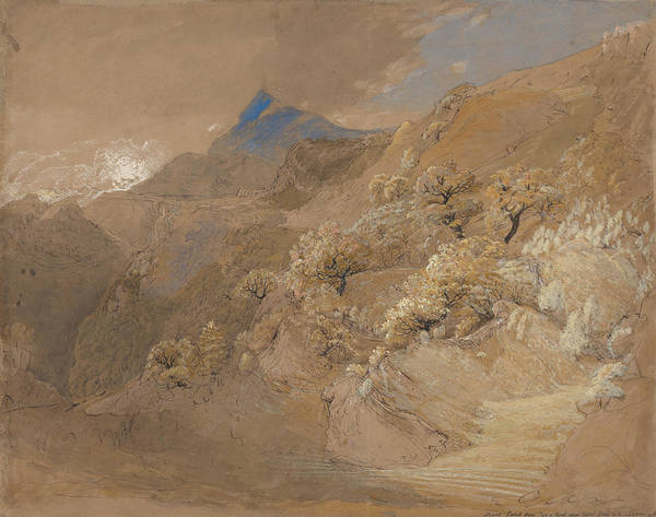 Painting - Mount Siabod From Tyn-y-coed Near Capel Curig by Samuel Palmer