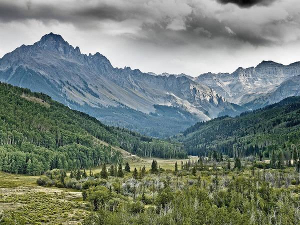 Fourteener Photograph - Mount Sneffels San Juan Mountains Of Colorado by Brendan Reals