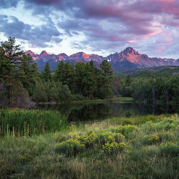 Photograph - Mount Sneffels Sunset by Rick Strobaugh