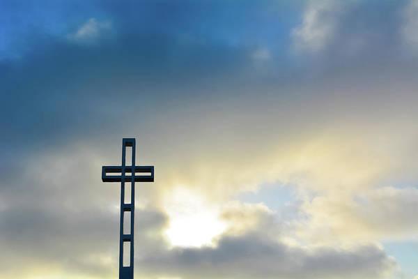 Photograph - Mount Soledad La Jolla Cross by Kyle Hanson