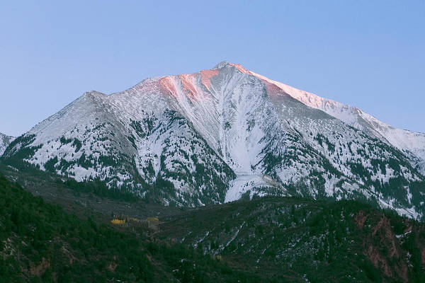 Photograph - Mount Sopris Alpenglow by Jemmy Archer
