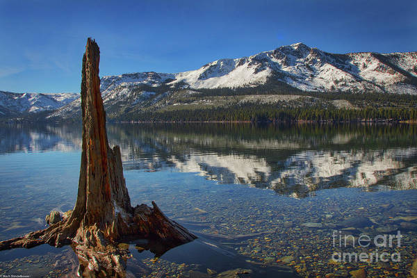 Fallen Leaf Lake Photograph - Mount Tallac And Fallen Leaf Lake by Mitch Shindelbower