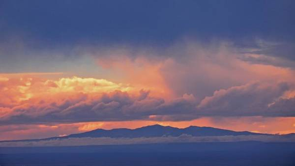 Photograph - Mount Taylor Under The Weather, New Mexico by Flying Z Photography by Zayne Diamond