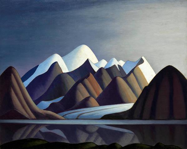 Wall Art - Painting - Mount Thule Bylot Island by Lawren Harris