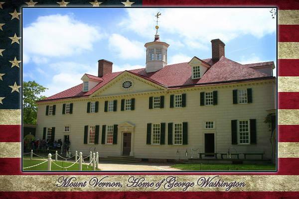 Photograph - Mount Vernon Home Of George Washington by Anthony Jones