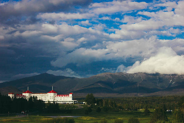 Photograph - Mount Washington And The Presidential Mountain Range Of New Hampshire by Jessica Tabora
